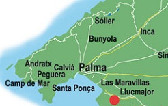 Golf-Map Mallorca
