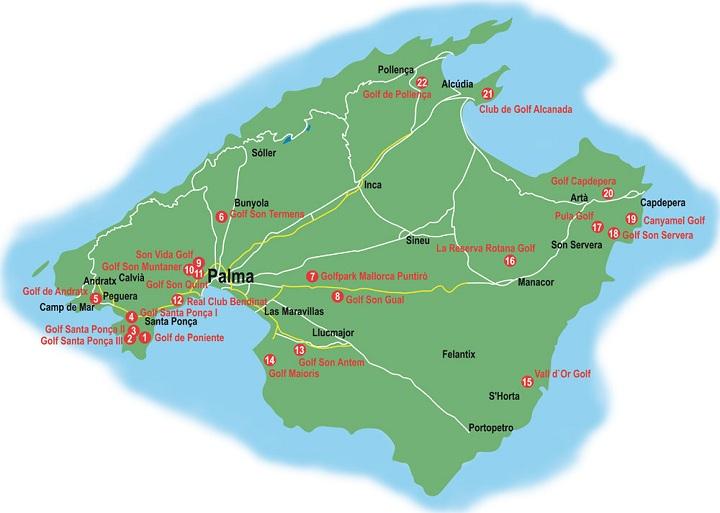 Mallorca, Golfen auf Mallorca, Golfsport.News